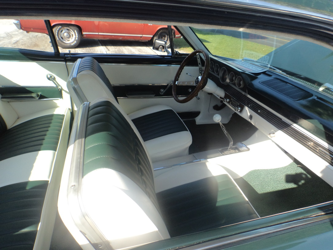 1966 Mercury Cyclone Interior